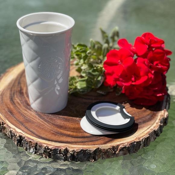 Starbucks 2012 white travel cup